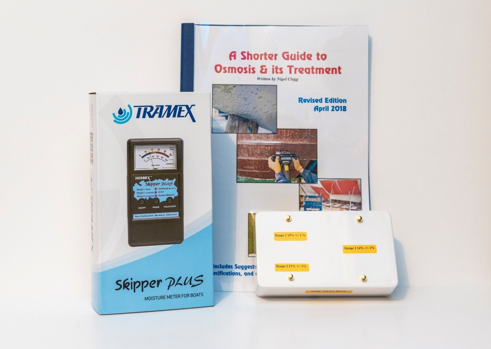 Tramex Skipper Plus Marine Moisture Meter (SMP) with Calibration Box